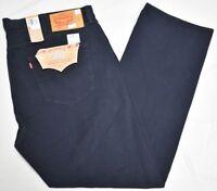 Levi's Jeans Men's 44x32 501 Original Straight Fit Denim Nightwatch Blue P207