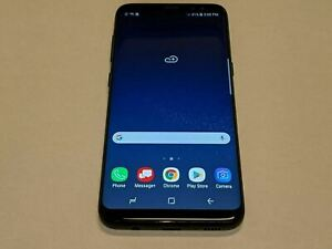 Samsung Galaxy S8 SM-G950U Midnight Black 64GB AT&T Wireless Smartphone