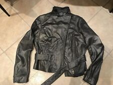 MuuBaa Womens Leather Biker Jacket