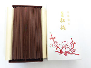 Japanese BAIKUNDO SENKOU Incense Sticks Byakudan Kodo Plum Made in JAPAN