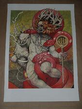 John Dyer Baizley Serpents Unleashed signed poster art print Baroness