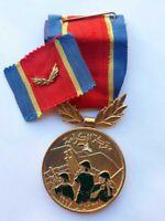 Jordan Jordanian military army Battle of Karameh 1968 medal Operation Asuta rare