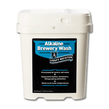 Craft Meister Alkaline Brewery Wash for Beer, Wine, Mead, Coffee, Soda 5 Lb Tub