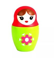 Tea Infuser Babushka Russian Nesting Doll Novelty Tea Infuser Red and Green $44