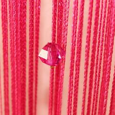 Hot String Curtain Acrylic Crystal Bead Room Door Divider Window Panel Decor 1PC