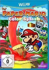 Nintendo Wii U Gioco - Paper Mario Color Splash (tedesco) (con )