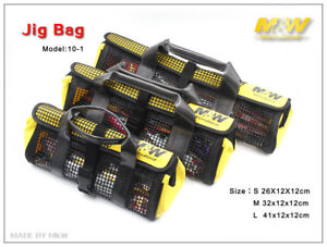MW Lure Bag Fishing Jig Holder Tackle Storage