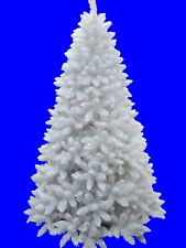 6' Sparkling White Christmas Tree with LED light and Metal Stand on sale