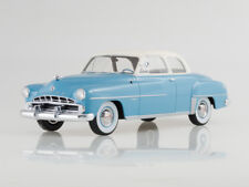 Scale model 1:18 Dodge Coronet Club Coupe,light blue/white, 1952