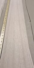 "Red Oak wood veneer 6"" x 48"" with paper backer 1/40th"" thickness ""A"" grade"