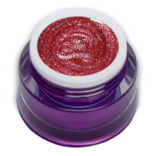 Premium Glam Glitter UV Gel Pink 5ml Farbgel Nageldesign Nailart 00652-68