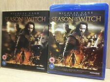 Season of the Witch Blu Ray New & Sealed Nicolas Cage + Slipcase