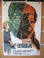 214       EL COLEGIO DE LA MUERTE SANDRA MOZAROWSKY TERROR ESPAÑOL