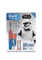Oral-B Kid's Vitality Star Wars Electric Rechargeable Toothbrush with Crest