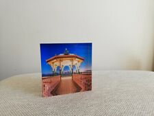 New Photograph Brighton Bandstand, East Sussex on the Acrylic Block square