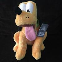 Disney Store Pluto Medium Soft Plush Toy - EX-DISPLAY