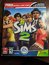 The Sims 2 - Prima's Official Game Guide by Prima - 366 Pages Paperback Book