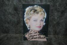 (M2) photo dédicace autographe autograph jeane manson