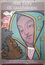 JEAN CHARLOT - HELEN PARISH - OUR LADY OF GUADALUPE - DEDICACE - DESSIN