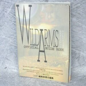 WILD ARMS Official Guide Sony PS Book 1997 AP8x*