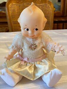Jesco Vintage Cameo's 75th Anniversary Kewpie Doll 11 Inch Original Dress
