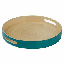 Bamboo Contemporary Dishwasher Safe Serving Trays