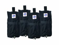 NEW Set of 4 E-Z UP BRAND Deluxe Weight Bag for Instant Shelter WBPR404BK EZ-UP