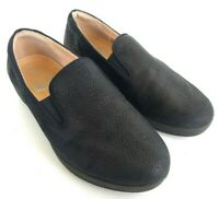 Fitflop Superskate Womens Size 7 Black Slip On Loafers Casual Comfort Shoes