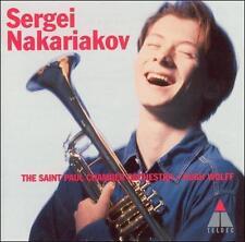 NEW Sergei Nakariakov ~ Baroque Trumpet Concertos; 1996 CD, Hugh Wolff, Germany,