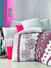 Bedding Set Linen Pillow Case Scandinavian Nordic Winter Christmas Cotton Rich