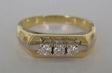 Wow💖0,30 ct. Diamant Ring in aus 585 Gold 6 gr. mit Brillanten Brillant Diamond