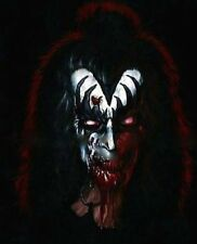 "Kiss-Gene Simmons ""The Demon"" Zombie Caricature Sticker or Magnet"