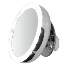 Clearview 12.7cm LED 5x Lupa portátil & Ventosa Redondo Maquillaje Espejo