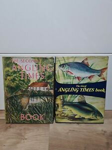The Angling Times Book Second 2nd 1962 & Third 3rd 1963 Bundle x2 Hardback