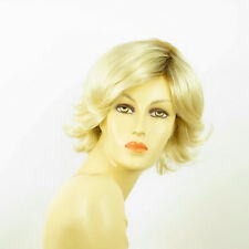 short wig for women very clear golden blond ref: MARION ys PERUK