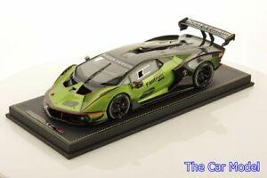 Pre-order Lamborghini Essenza SCV12 Green Verde Selvans - Ltd 399 pcs MR 1/18