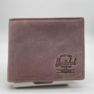 Herschel Roy Wallet Pink Leather