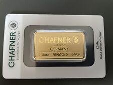 C. HAFNER Goldbarren 1 oz Feingold 999,9