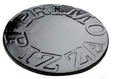 Primo 340 Porcelain Glazed Pizza Baking Stone for Oval Junior Grill