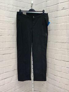 Columbia Just Right Straight Leg Pants - Women's Size 14 R, Black