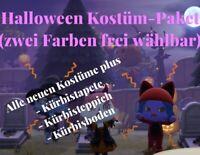 Animal Crossing New Horizons 🎃alle Halloween-Kostüme + Bonusitems🎃