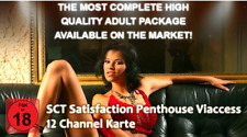 SCT Satisfaction Penthouse 12 Channel Karte 12 Mon. FSK 18 für Viaccess Sec. Cam