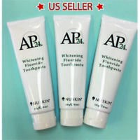 3 Nu Skin NuSkin Ap24 Whitening Fluoride Toothpaste / Brand New / Authentic