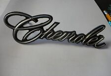 Chevrolet  Emblem, With Chevrolet Word,