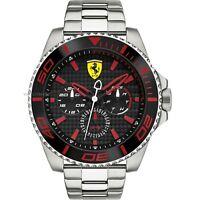 Scuderia Ferrari 0830311 Men's XX Kers Stainless Steel Bracelet Watch RRP £209