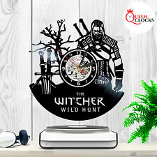 The Witcher 3 III Collectors Edition Vinyl Record Wall Clock Wild Hunt Decor