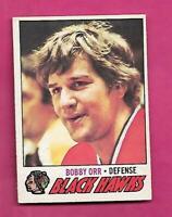 1977-78 OPC # 251 HAWKS BOBBY ORR EX+  CARD (INV# D7938)