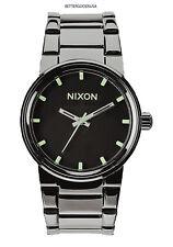 NIXON A1601885 Gent's Unisex Quartz Black Dial Gunmetal IP Stainless Steel WATCH