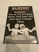 New Buzzed Drinking Card Game Fun Party Game Sealed