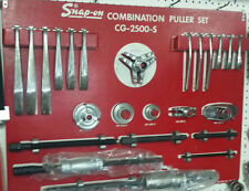 """Snap-On """"CG-2500-S"""" Puller Set, Heavy Duty, Tool Board and Cabinet"""